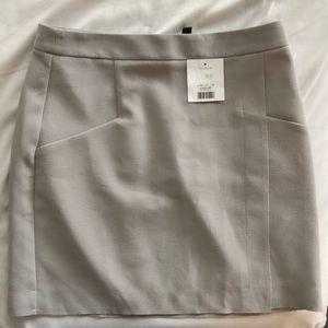 Brand new top shop grey mini skirt
